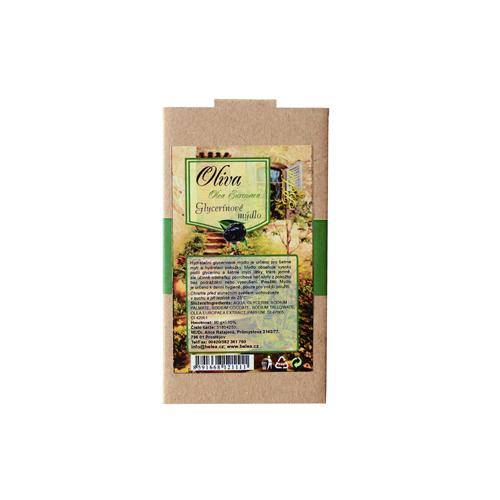 Mýdlo glycerínové jemné oliva 90 g v papírové krabiččce