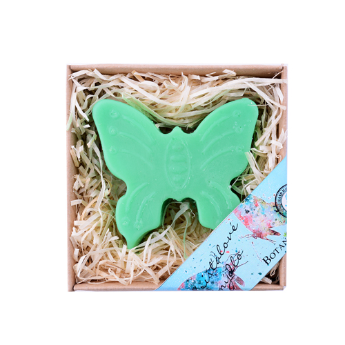 Mýdlo dětské křišťálové motýlek  BOTANICO 100g zelený