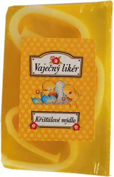 Křišťálové mýdlo s vruty, vaječný likér, aroma 100g