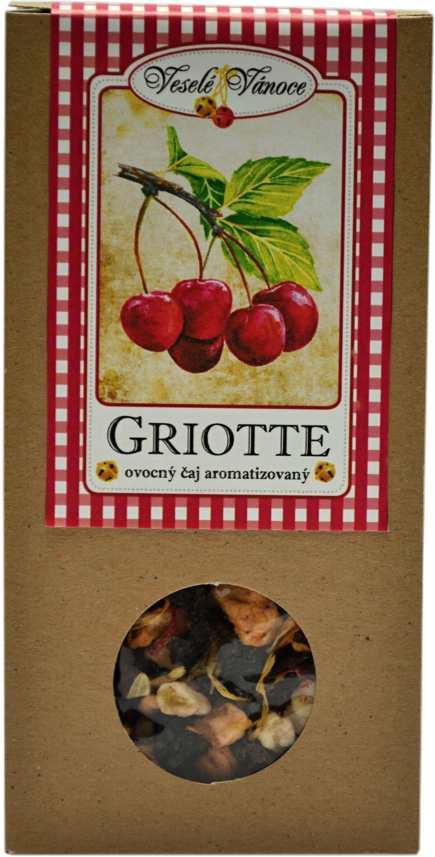Griotte -ovocný čaj -krabička 70g