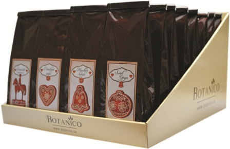 Perníčková kolekce-v displeji 32 ks čajů 4 druhy po 8ks