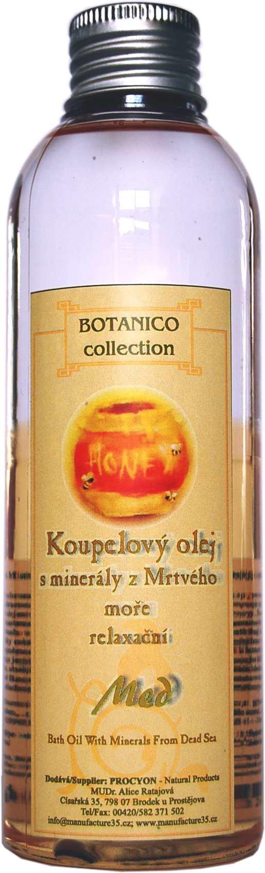 Med-Koupelový olej dvoufázový s minerály mrtvého moře relaxační 200ml