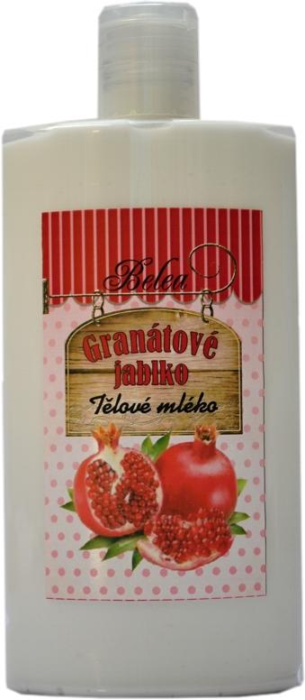 Tělové a pleťové mléko granátové jablko 250ml