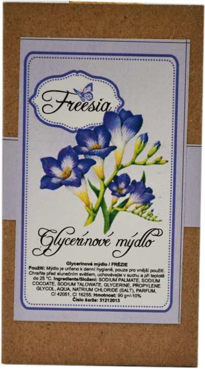 Mýdlo glycerínové frézie 90g