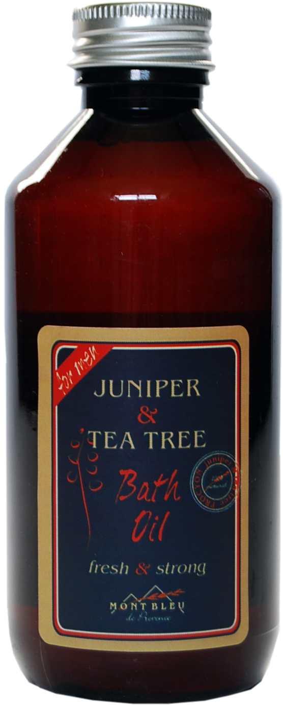 Koupelový olej jalovec a tea tree- MONT BLEU pro muže