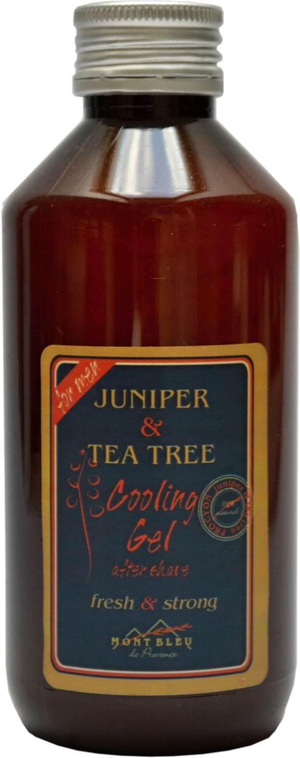 Gel po holení jalovec a tea tree- MONT BLEU pro muže