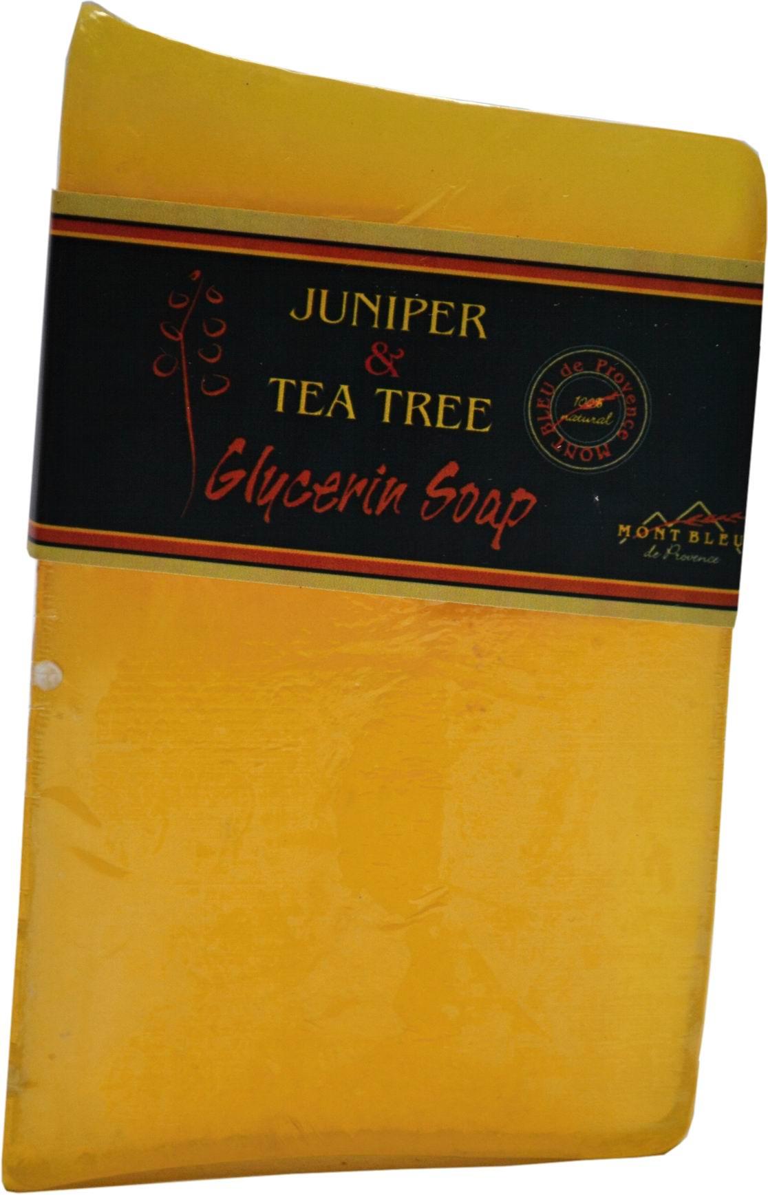 Glycerínové mýdlo jalovec a tea tree-  MONT BLEU -100g pro muže