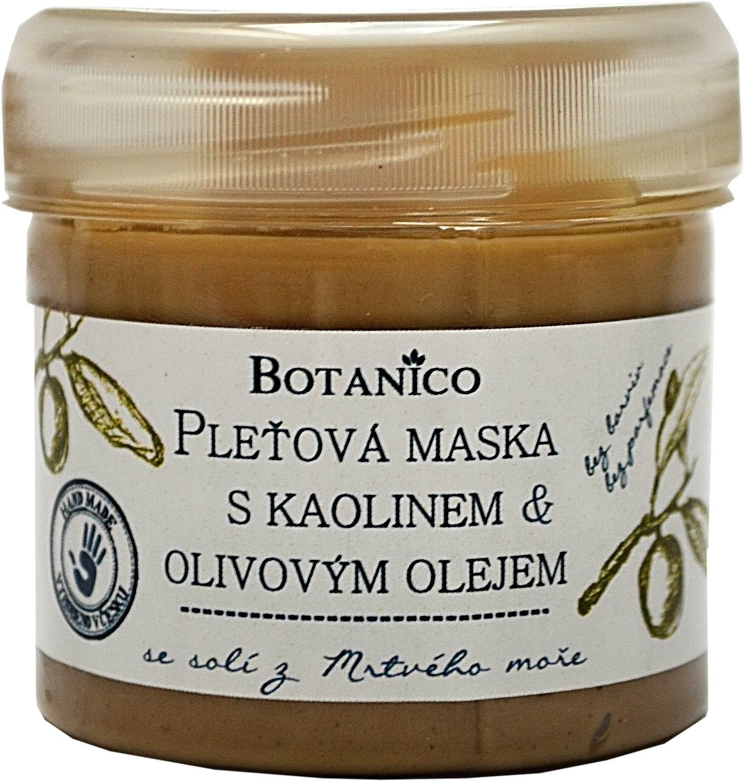 Kaolínová pleťová maska s olivovým olejem 100ml Botanico (Kopírovat)