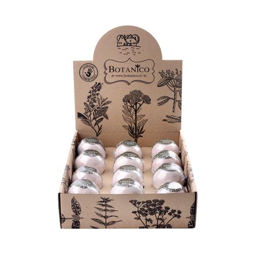 BOTANICO koupelová koule káva 50g displej 12 ks