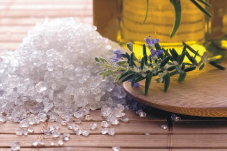 Konopí - koupelová sůl volně vážená s bylinou kg