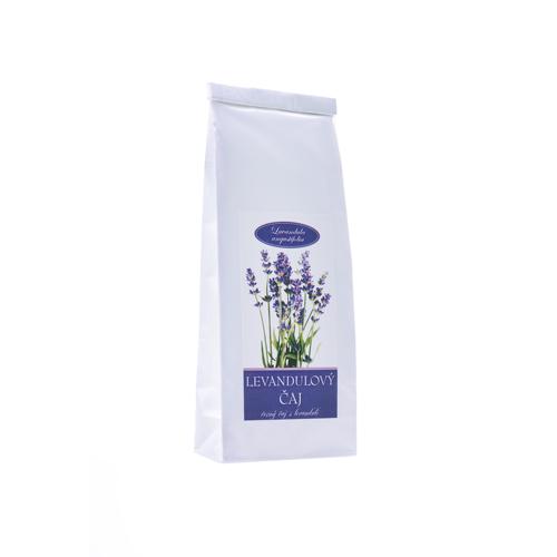 Levandulový čaj 70g -černý čaj s levandulí sáček