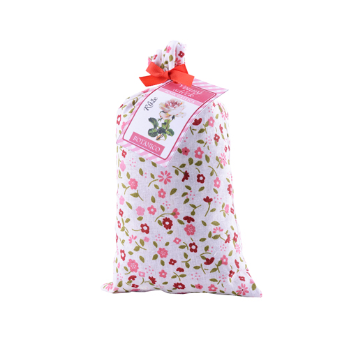 Růžový vonný sáček dárkový velký