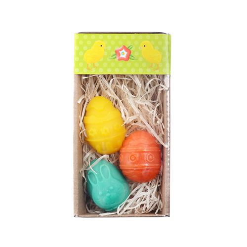 Velikonoční mýdlo (3 ks)  - vajíčko M, á 25 g (± 10 g)