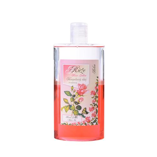 Koupelový olej dvoufázový 250 ml růže