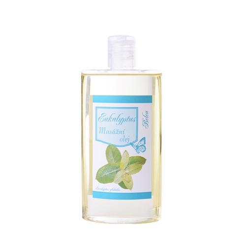 Masážní a tělový olej eukalyptus 250ml