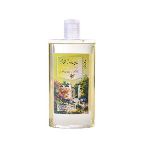 Masážní a tělový olej konopí 250ml