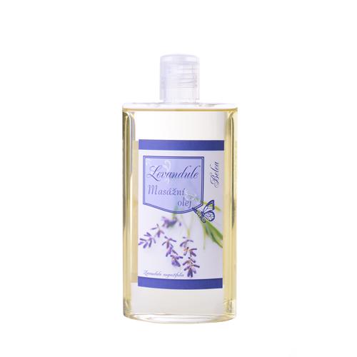 Masážní a tělový olej levandule 250ml