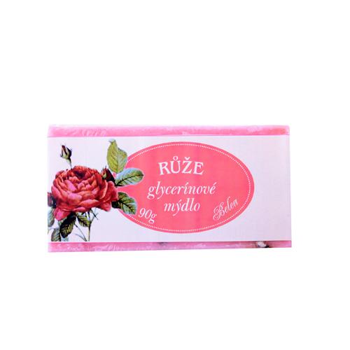 Glycerínové mýdlo růže 90 g