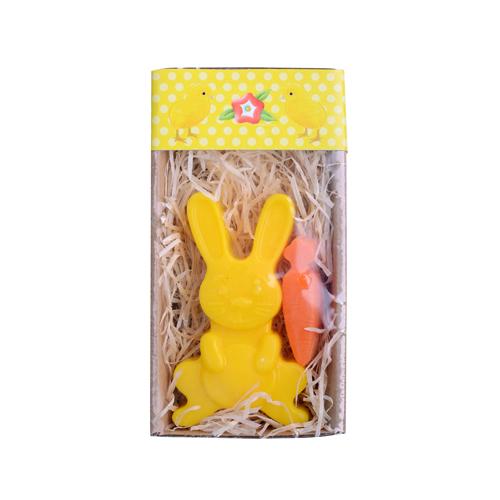 Velikonoční mýdlo -žlutý zajíčeka mrkvička, 60 g