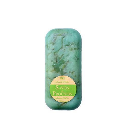 Glycerínové mýdlo bez závěsu meduňka s měsíčkem-200g