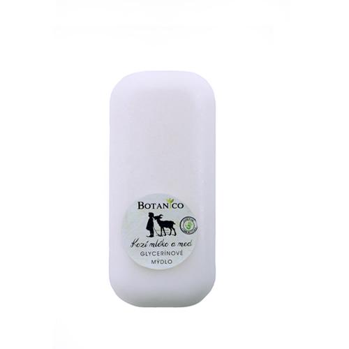 Glycerínové mýdlo s kozím mlékem a medem-200g bez závěsu