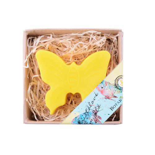 Mýdlo dětské křišťálové  motýlek  BOTANICO 100g žlutý