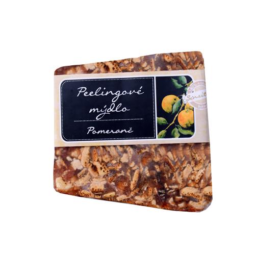Sensitive mýdlo pomeranč křišťálový peeling-90g-BOTANICO