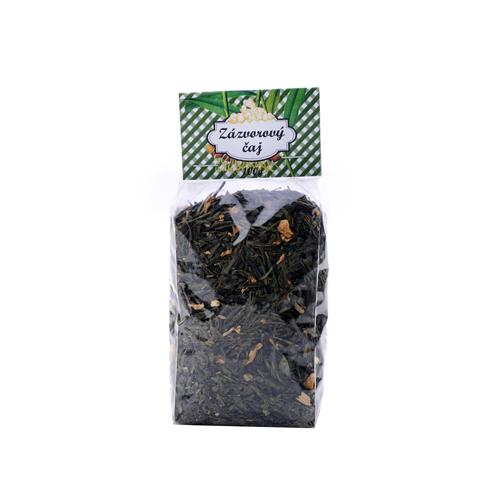 Zázvorový čaj / zelený čaj aromatizovaný / 100 g