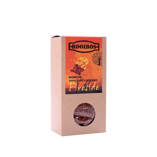 Bylinný čaj - ROOIBOS FIRE SIDE - krabička 70g