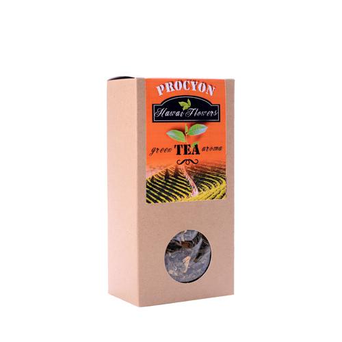 Zelený čaj aroma - HAWAI FLOWERS - krabička 70g