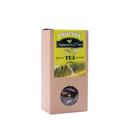 Zelený čaj aroma - JAPANESE LIME - krabička 70g