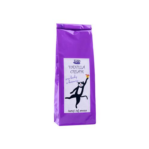 Vannilla cream-černý aromatizovaný čaj-PRO KOČKY A KOCOURY 70g