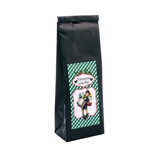 Vánoční čaj sencha, zelený čaj, aroma, sáček 70g