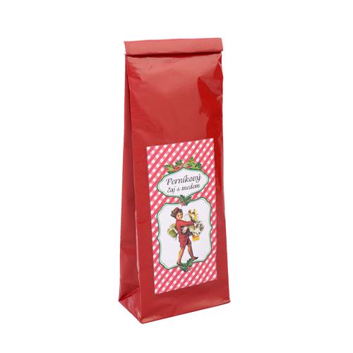 Vánoční perníkový čaj s medem, černý čaj a koření, sáček 70g