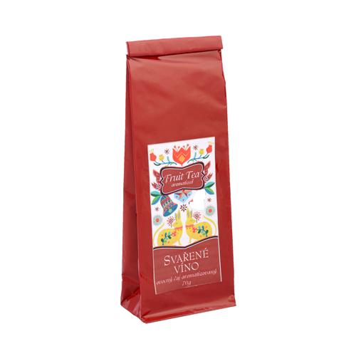 Svařené víno-ovocný aromatizovaný čaj sáček červený 70g
