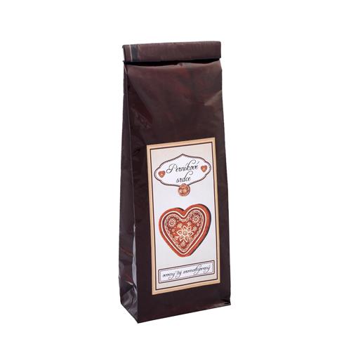 Perníkové srdce 70g ovocný aromatizovaný čaj