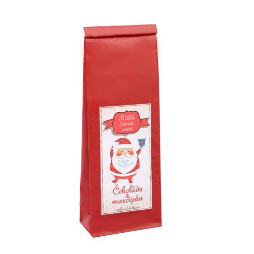 Nibble domino sweet-čokoláda a marcipán-70g rooibos bylinný aromatizovaný čaj