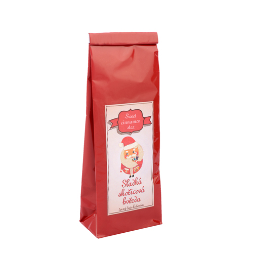 Sweet cinnamon star-sladká skořicová hvězda-70g černý aromatizovaný čaj