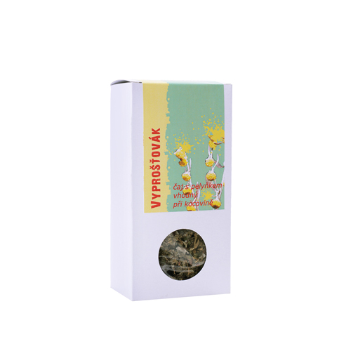 VYPROŠŤOVÁK - čaj s pelyňkem - krabička s okénkem 50g