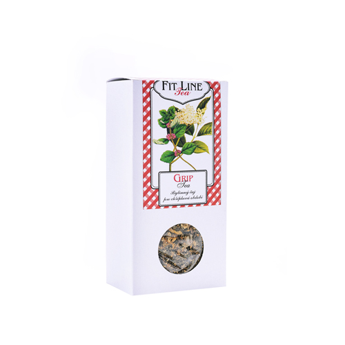 GRIP tea - krabička s okénkem 50g