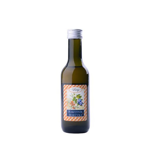 Bylinný sirup / Rakytník a borůvka -podpora odolnosti 185 ml