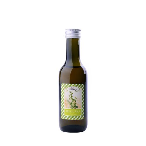 Bylinný sirup / Meduňka -lepší spánek a uklidnění 185 ml