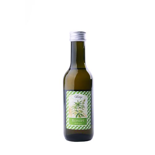 Bylinný sirup 185ml  Konopí-odolnost, metabolismus