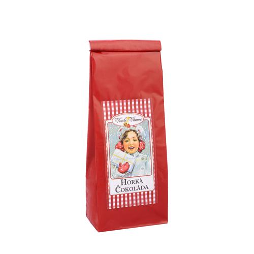Vánoční horká čokoláda červený sáček100g