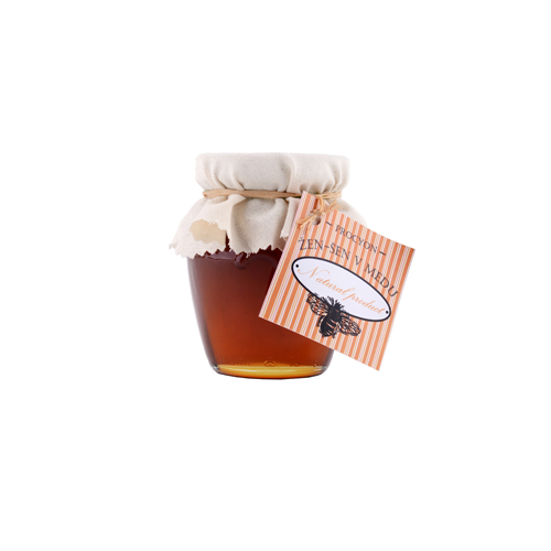 Med s kořenem žen-šen (5%) 145 ml