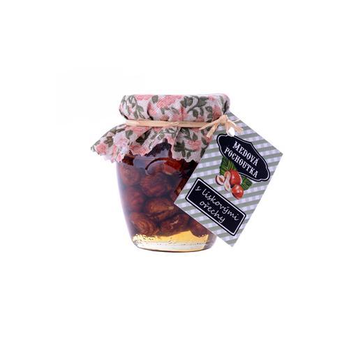 PROCYON - Medová pochoutka 145 ml / s lískovými ořechy