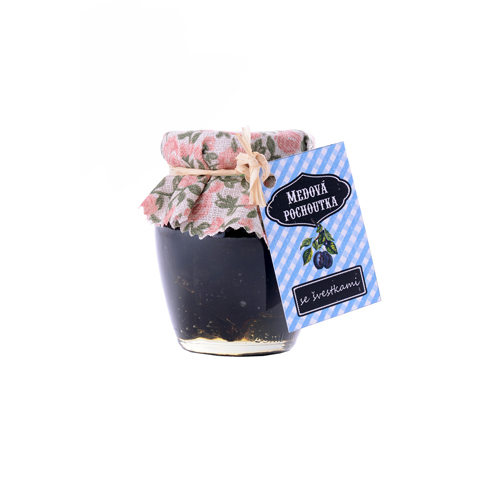 PROCYON - Medová pochoutka 145 ml / se švestkami