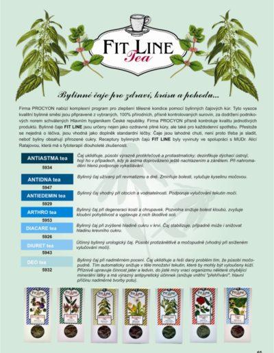 65_čaje FIT LINE