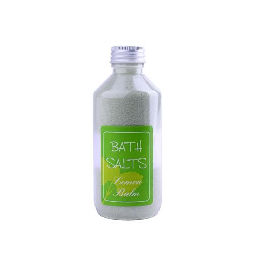 koupelová sůl meduňka jemná pruhy plast 380g