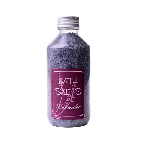 koupelová sůl  levandule fialov hrub plast 380g